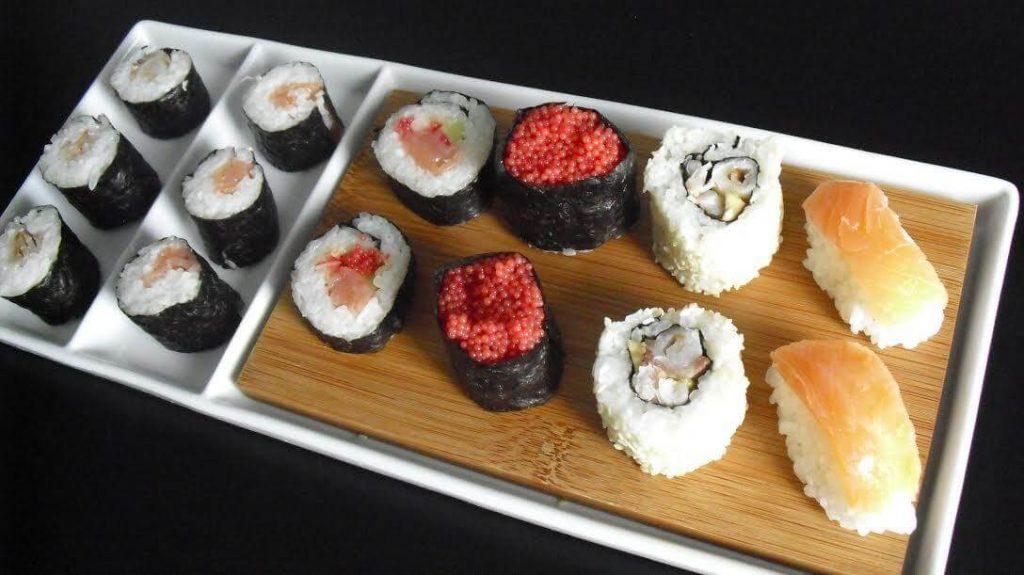 come preparare il sushi tipi