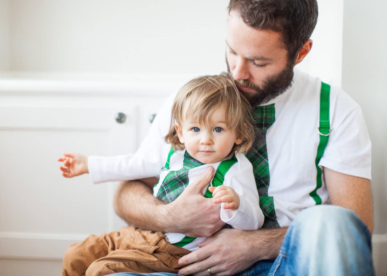 vendita più calda elegante il più votato a buon mercato Festa del papà e moda: vestiti uguali, papà e figlio ...