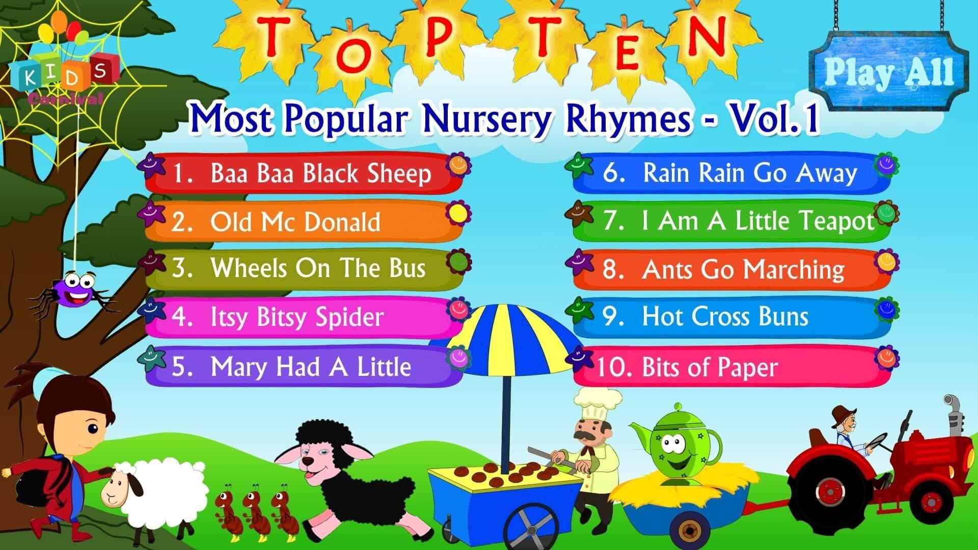 App per bambini - kids nursery rhymes