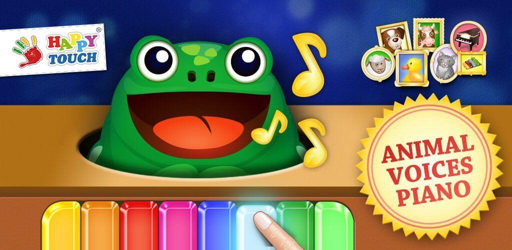 App per bambini - pianoforte con animali per bambini