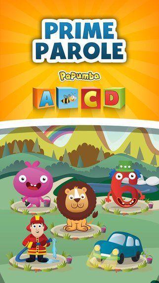 App per bambini - prime parole