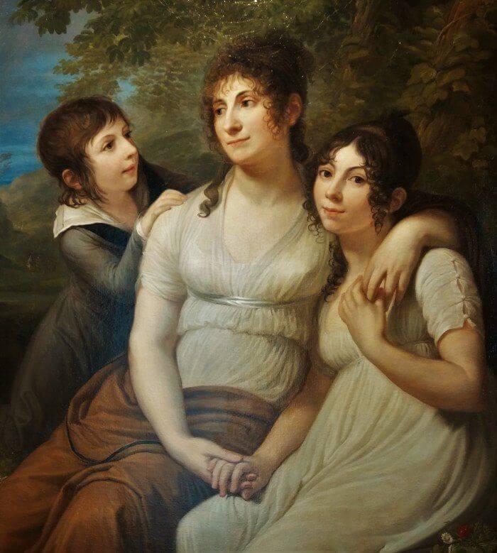 GAM Andrea Appiani Madame Petiet e figli