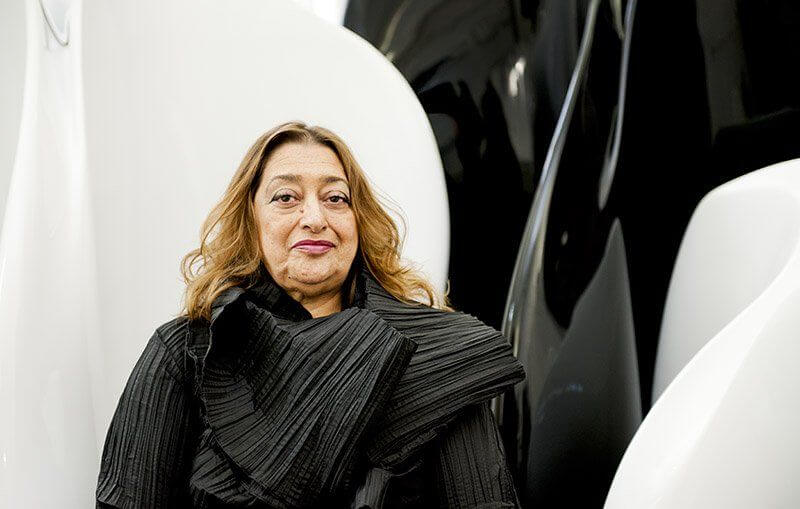 architetto donna musulmana Zaha Hadid