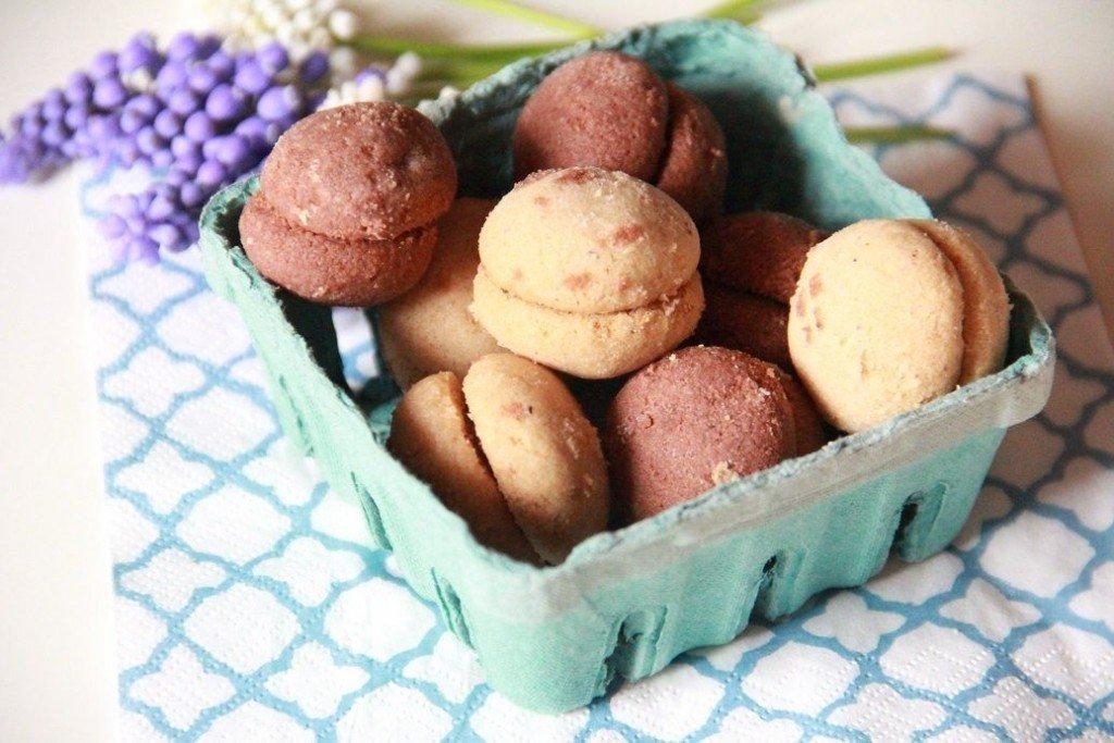 baci di dama al cioccolato ricetta