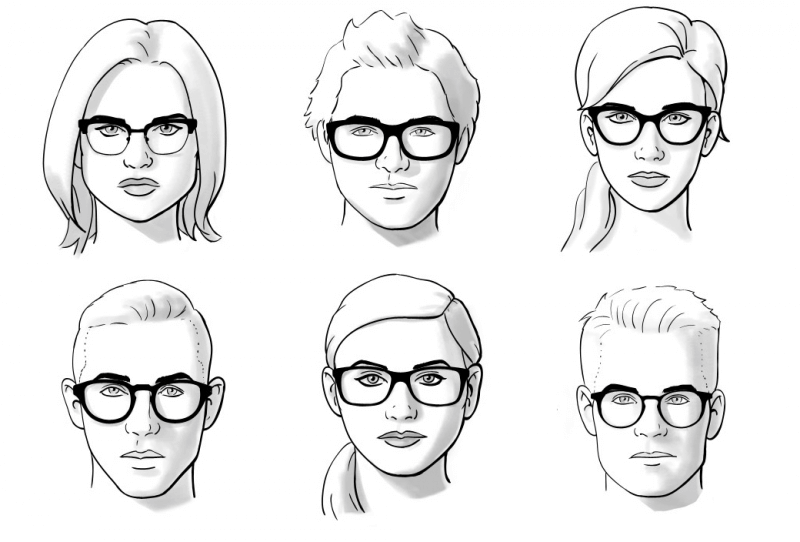 a basso prezzo 2d953 f2e40 Che montature di occhiali scegliere in base alla forma del ...