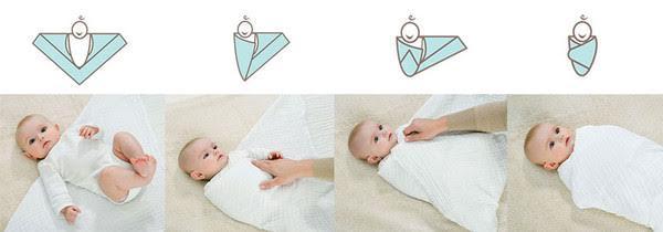 mussole fasciare il neonato