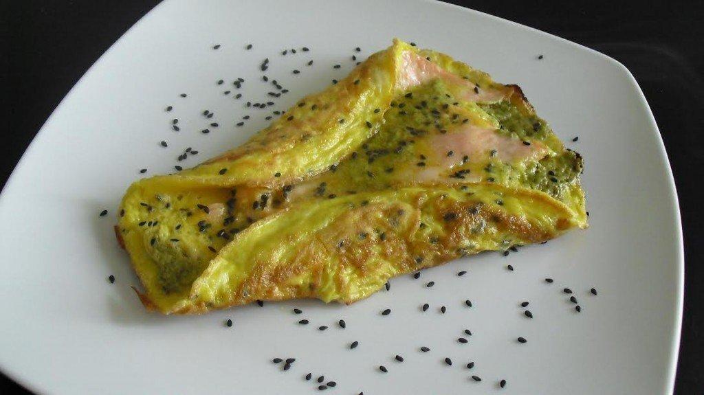 ricetta omelette salata farcita