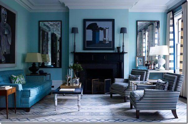 significato colori casa blu
