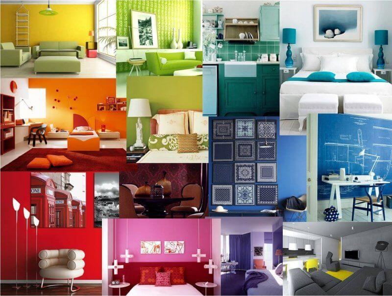 significato colori casa