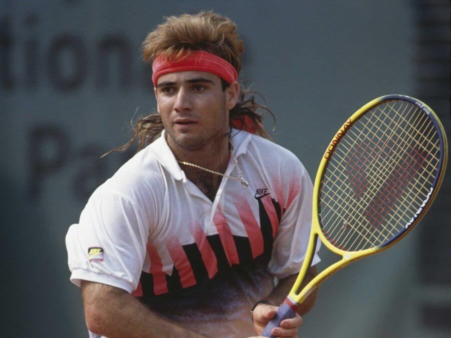 Andre Agassi tennis bnl roma