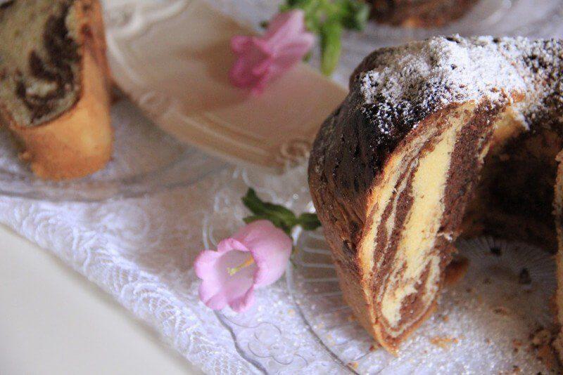 torta bicolore torta per festa della mamma