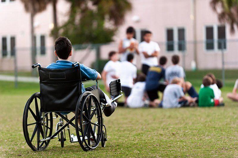 Strutture estive per bambini disabili