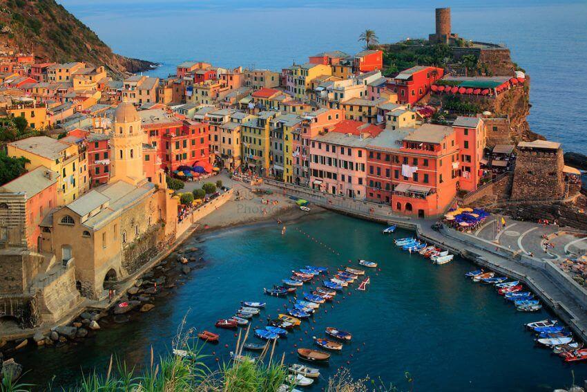 Vernazza le città di mare più belle d'italia
