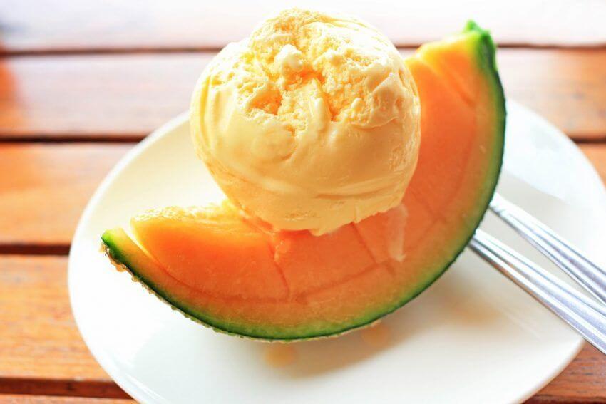 gelato al melone senza gelatiera bimby senza yogurt