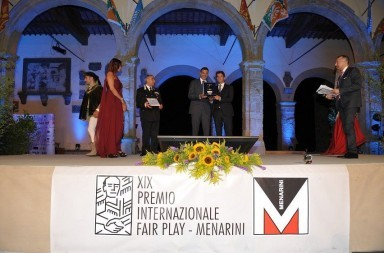 premio internazionale fair play menarini