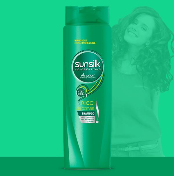 shampoo ricci da domare sunsilk