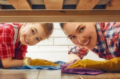 Rientro dalle vacanze riordinare, pulire e rinfrescare la casa