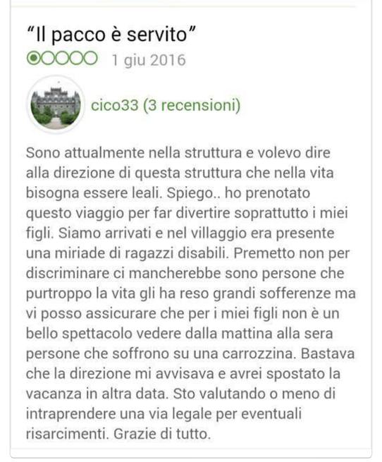 commento tripadvisor