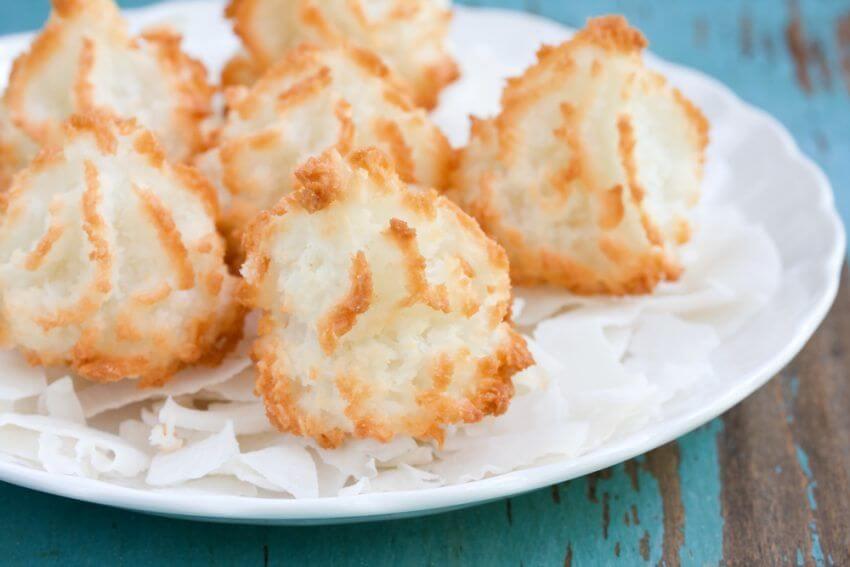 Ricette Healthy Food dolcetti morbidi al cocco veloci, senza lattosio e  senza glutine