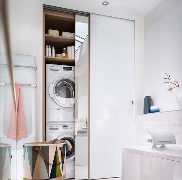 Soluzioni salvaspazio per la tua casa chizzocute - Lavatrice in bagno soluzioni ...