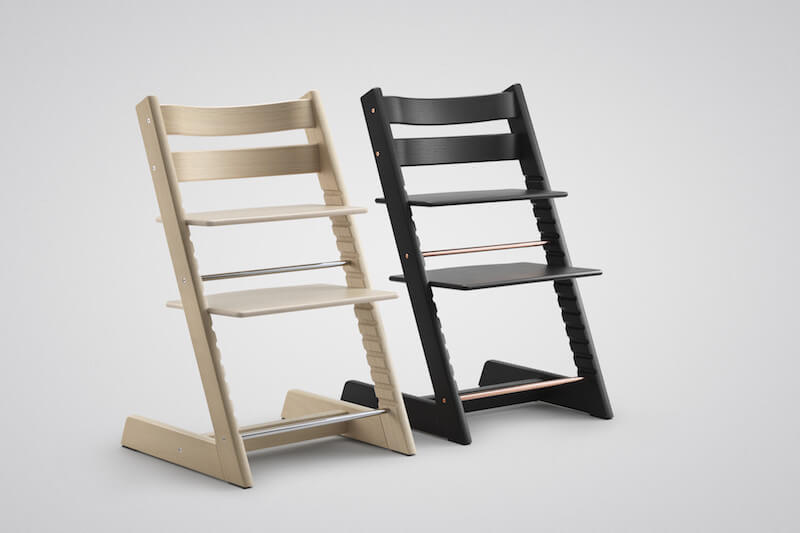 Tripp Trapp highchair Oak Black & White product