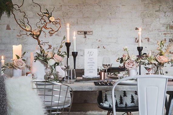 Matrimonio Tema Inverno : Come organizzare un matrimonio dinverno in stile scandinavo