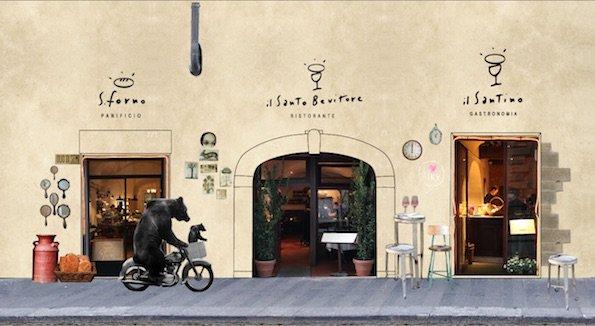 Firenze il santo bevitore ristorante santo spirito