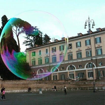 piazza del popolo roma giochi bambini