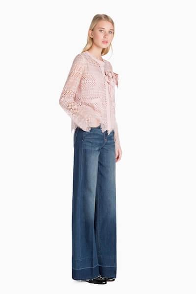 jeans palazzo Twin Set