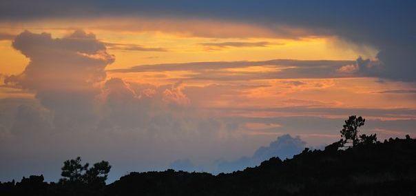 Etna tramonto sicilia