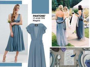 Pantone Niagara matrimonio