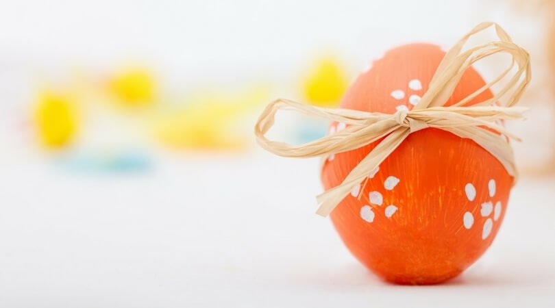Pasqua uovo sano