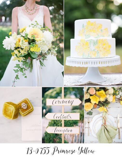 Primrose Yellow matrimonio