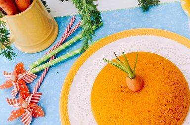 Torta camilla con carote e mandorle