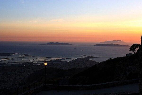 castello di erice_sicilia_tramonto