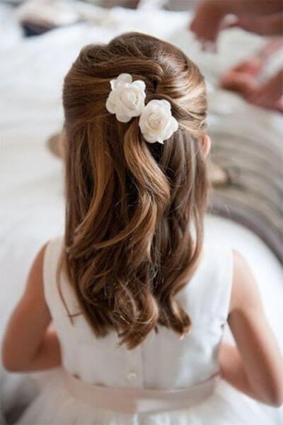 Estremamente I capelli per la Prima Comunione: come raccoglierli con stile  QK77
