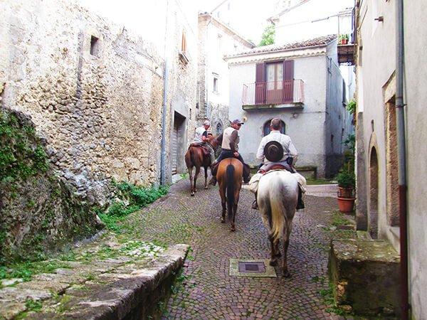 Italia a cavallo la Linea Gustav