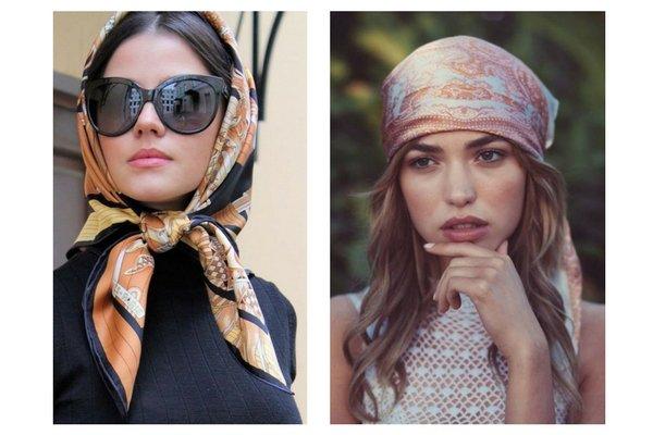 Come indossare il foulard come copri capo