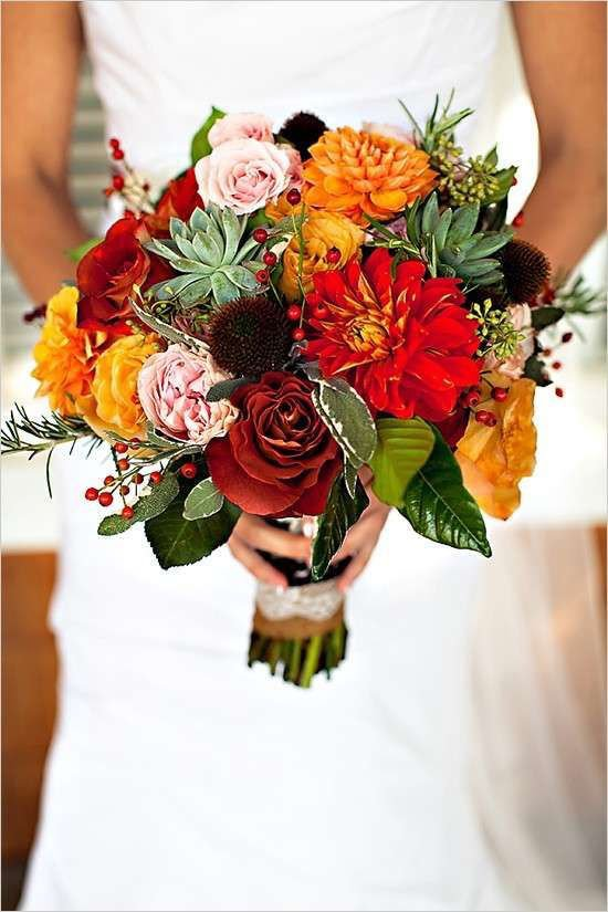 Matrimonio autunnale bouquet