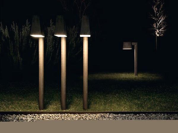 Illuminazione sterna_torrette punti luce