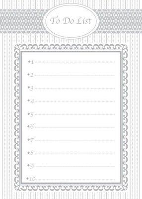 matrimonio to do list