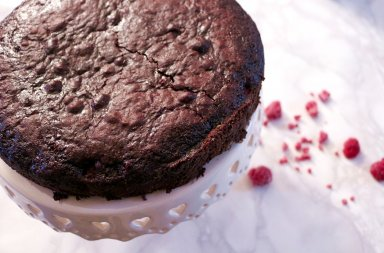 ricetta torta cioccolato e lamponi