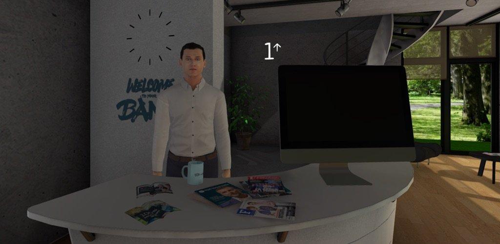 Banca Virtual Reality