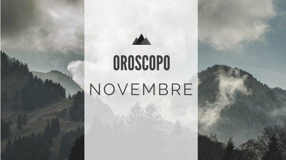 Oroscopo Novembre