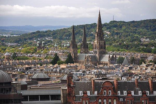 10 città europee per un weekend romantico - Edimburgo