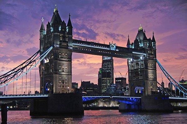 10 città europee per un weekend romantico - Londra