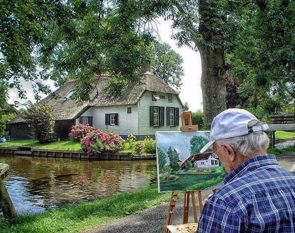 Giethoorn-paese-da-fiaba-pittori-e-artisti