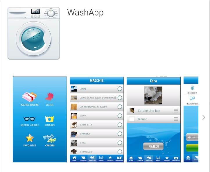 WashApp_App per lavare i vestiti
