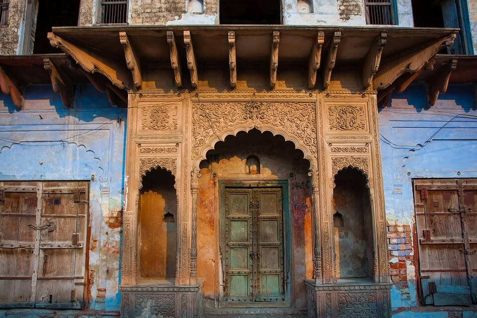 Case architettura indiana