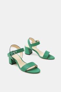 sandali open toe verdi